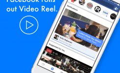 Facebook rolls out video reel feature on mobile